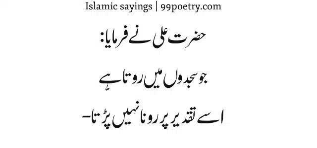 Hazrat Ali ne farmaya-quotes-in-urdu