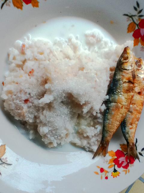 Rice + Tuyo + Carabao's Milk: A Formula to an Exciting Breakfast