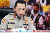 Komjen Pol Listyo Sigit Prabowo Hadiri Sidang Paripurna DPR RI Pengesahan Kapolri Baru