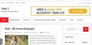 Palki 2 – Responsive Blogger Template