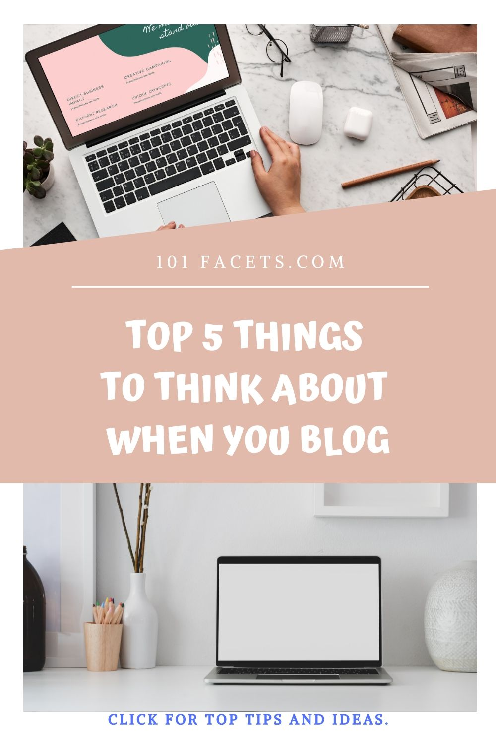 5 Things To Think About When You Blog