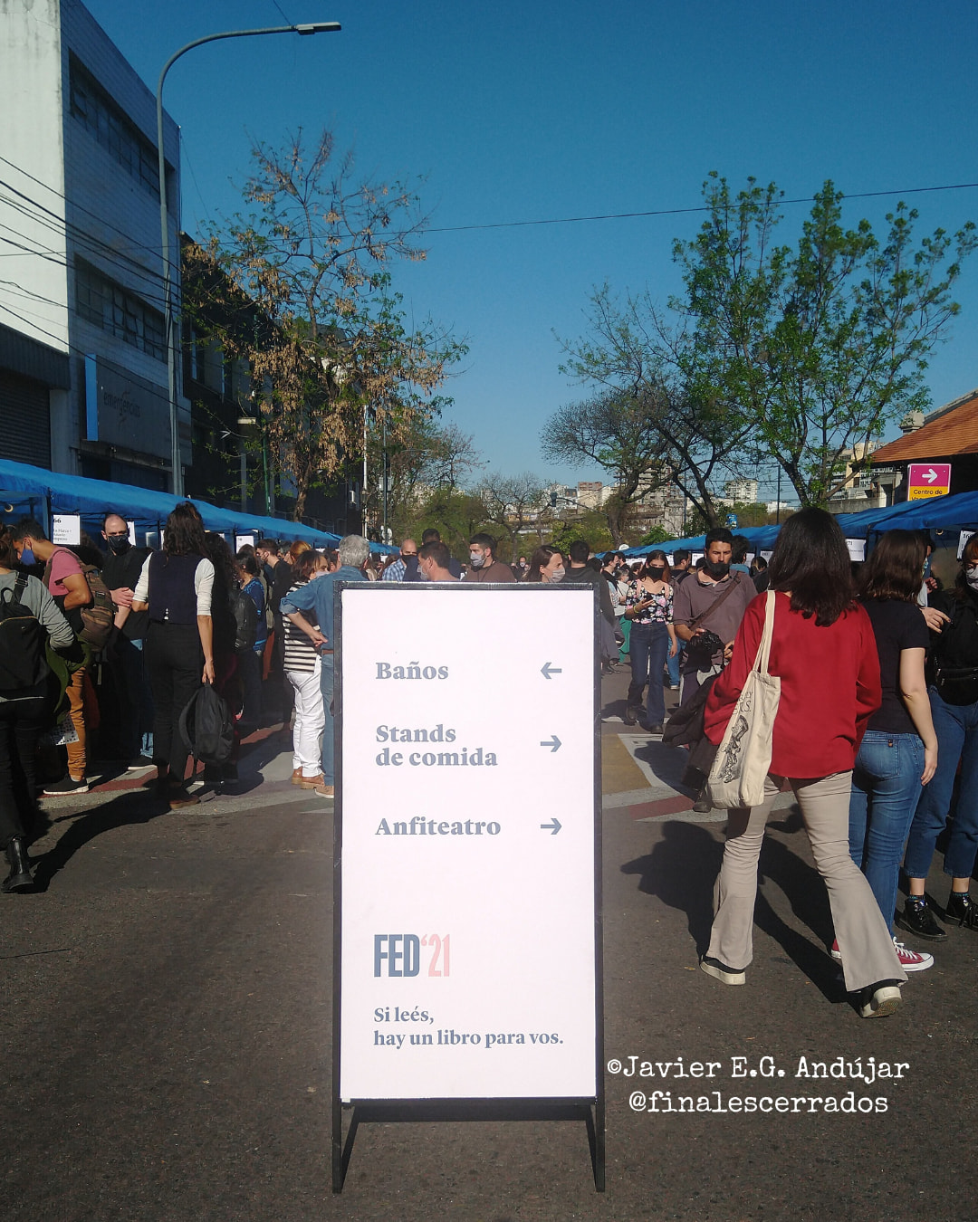 Algo de la Feria de Editores #FED21