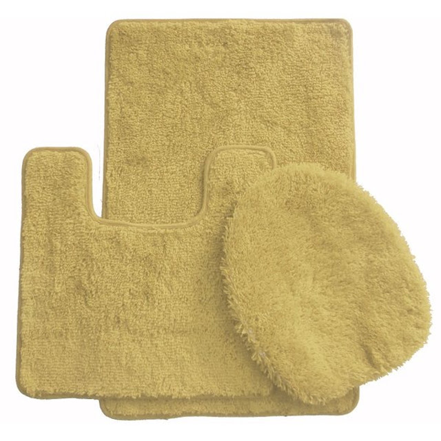 caffe latte 3 piece kitchen rug set