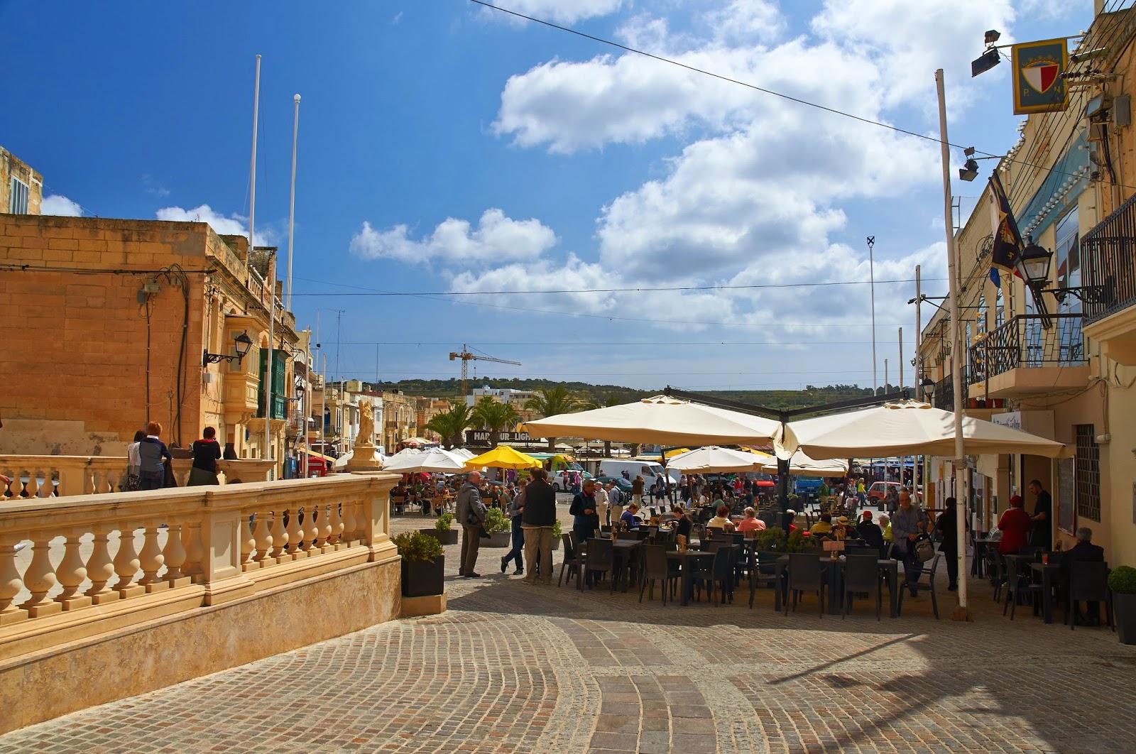 centrum miasta Marsaxlokk