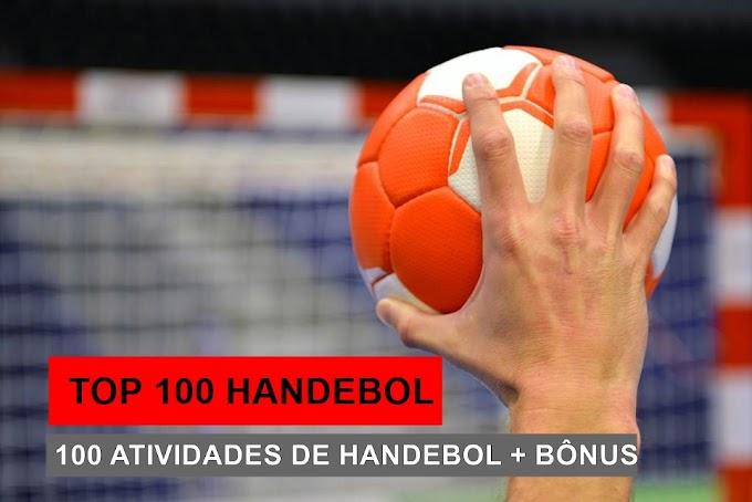 TOP 100 HANDEBOL ESCOLAR - 100 atividades de Handebol