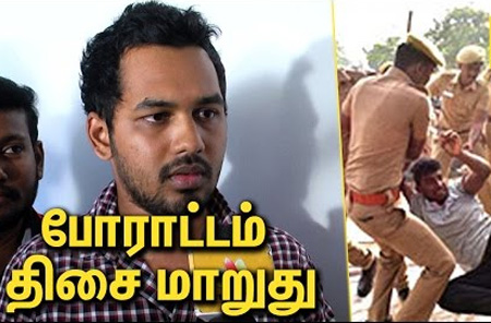Hip Hop Tamizha Interview about the current situation | Jallikattu Protest