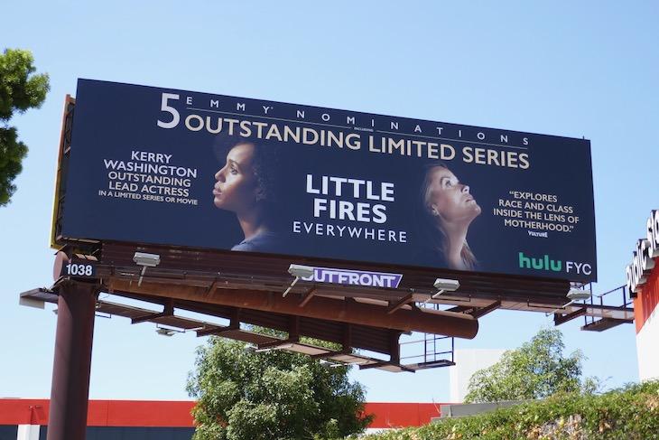 Little Fires Everywhere 2020 Emmy nominee billboard
