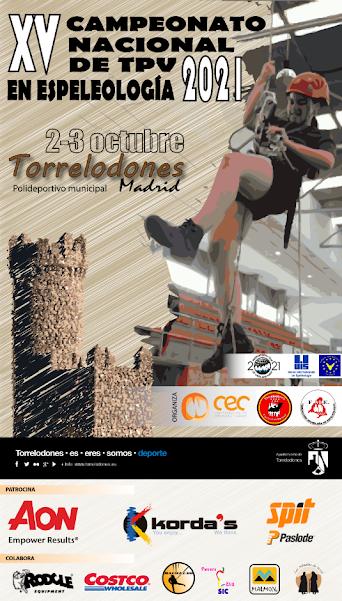XV Campeonato Nacional de Técnicas de Progresión Vertical en Espeleología 2021