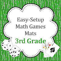 Easy Setup 3rd grade math games