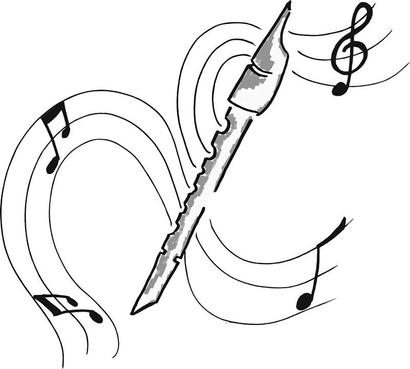 mamo nauczę cię nut czyli dziecko uczy gry na flecie