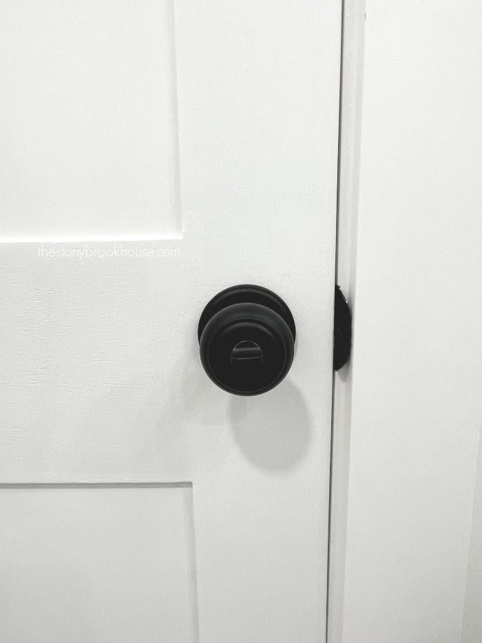 New door knob installed
