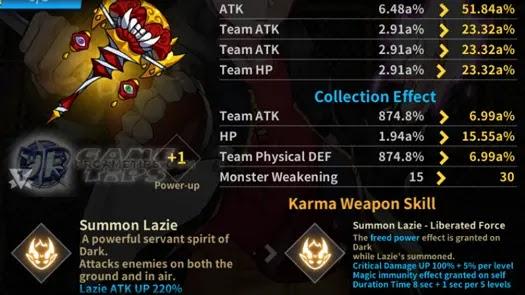 Lucid Adventure: Idle RPG - Dark Blessed Karma Weapons 1