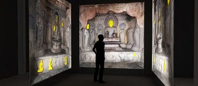 Buddhist Temple  Exhibition  uses 3D Technology