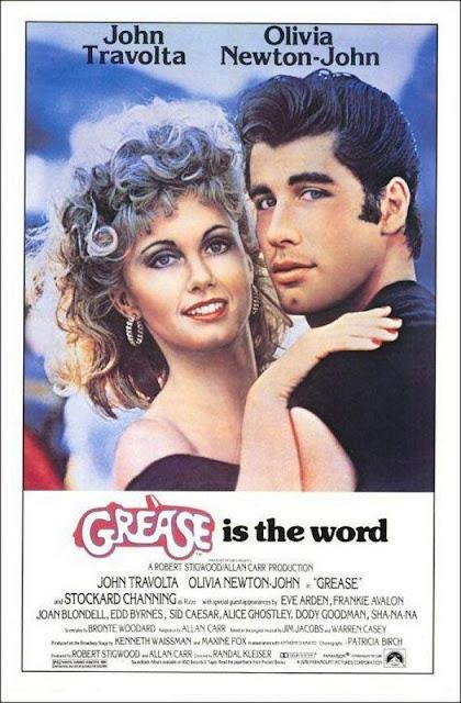 Póster película Grease