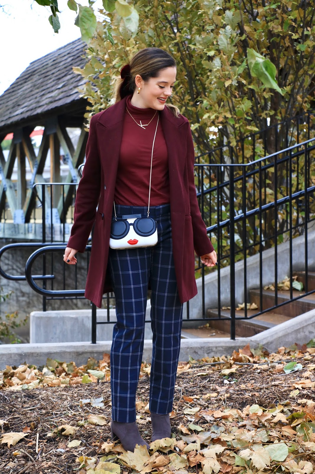 Nyc fashion blogger Kathleen Harper's 2019 fall outfit idea.