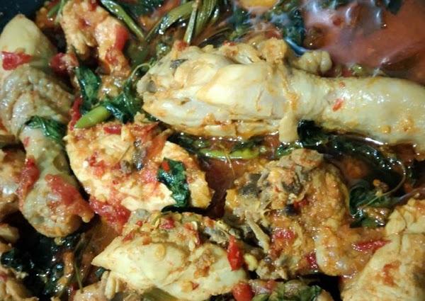 Ayam Woku Tiktok Pedas Gurih