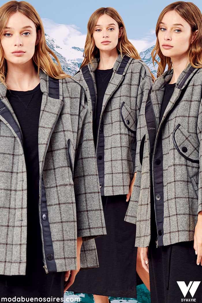 Tapados de moda para mujer moda invierno 2021