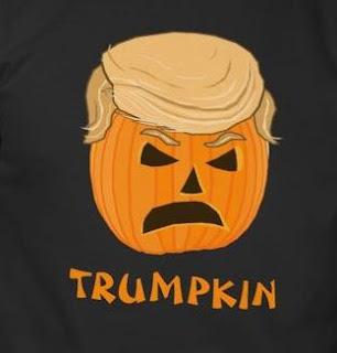 Donald Trump Halloween Pumpkin T-Shirts