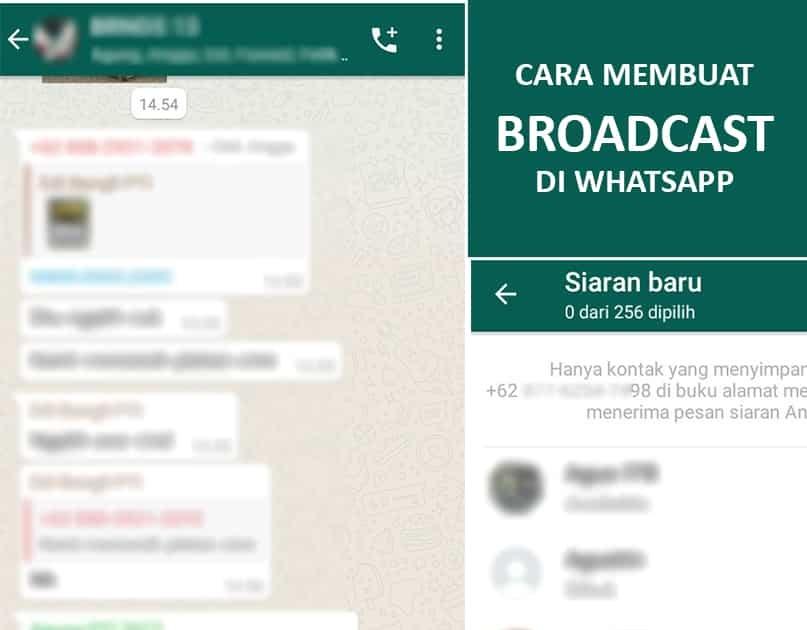 Cara Membuat Broadcast Di Whatsapp Edit Kirim Pesan Dan Hapus Review Teknologi Sekarang