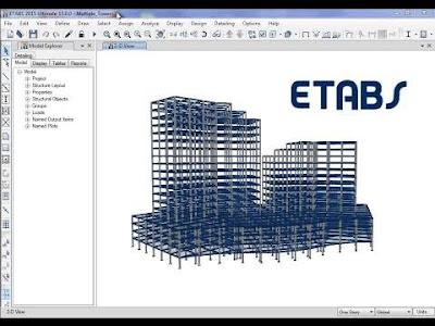 برنامج التحليل الانشائي المنتظر ايتابس بالتفعيل  | etabs v19