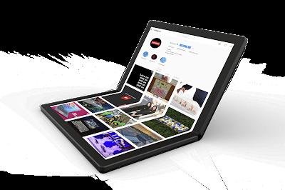 world's first foldable laptop-techfaqbd