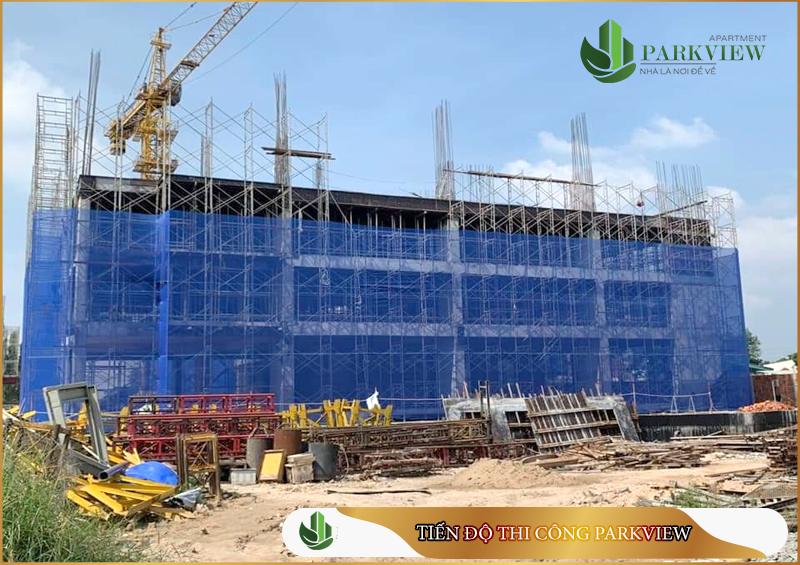 Parkview Bình Dương tự hào là dự án thi công nhanh nhất khu vực, Hiện tại Parkview Apartment đã lên tầng 3