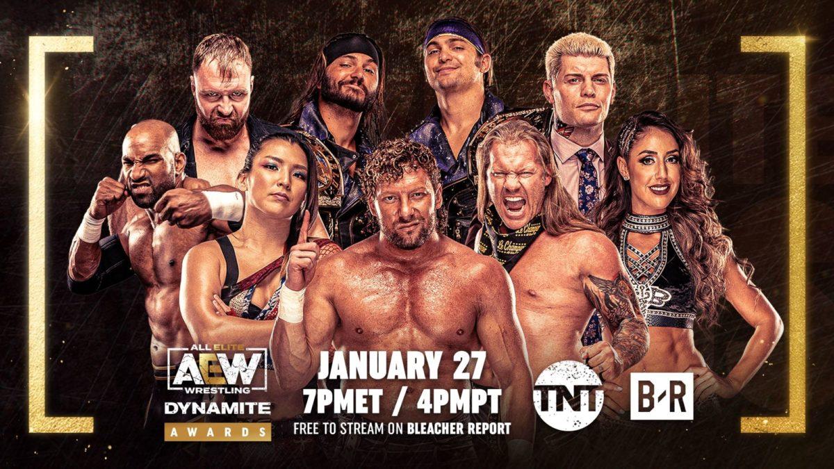 AEW anuncia o Dynamite Awards