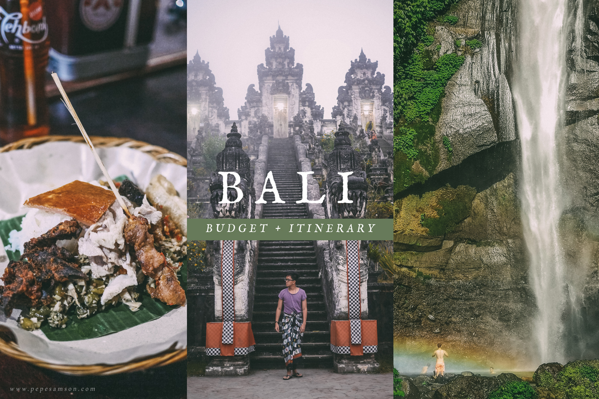 Travel Guide: Bali Budget and Itinerary