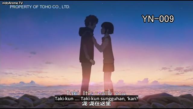 Taki dan Mitsuha bertemu