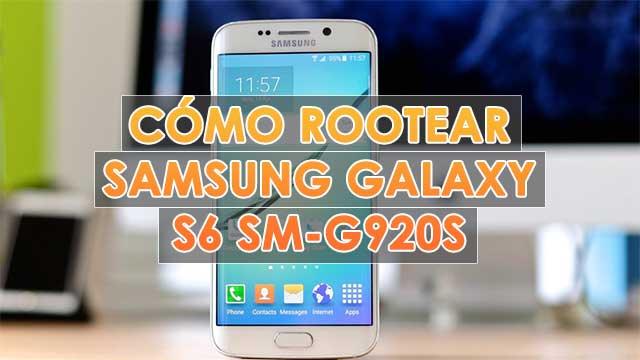 Cómo ROOTEAR Samsung Galaxy S6 SM-G920S