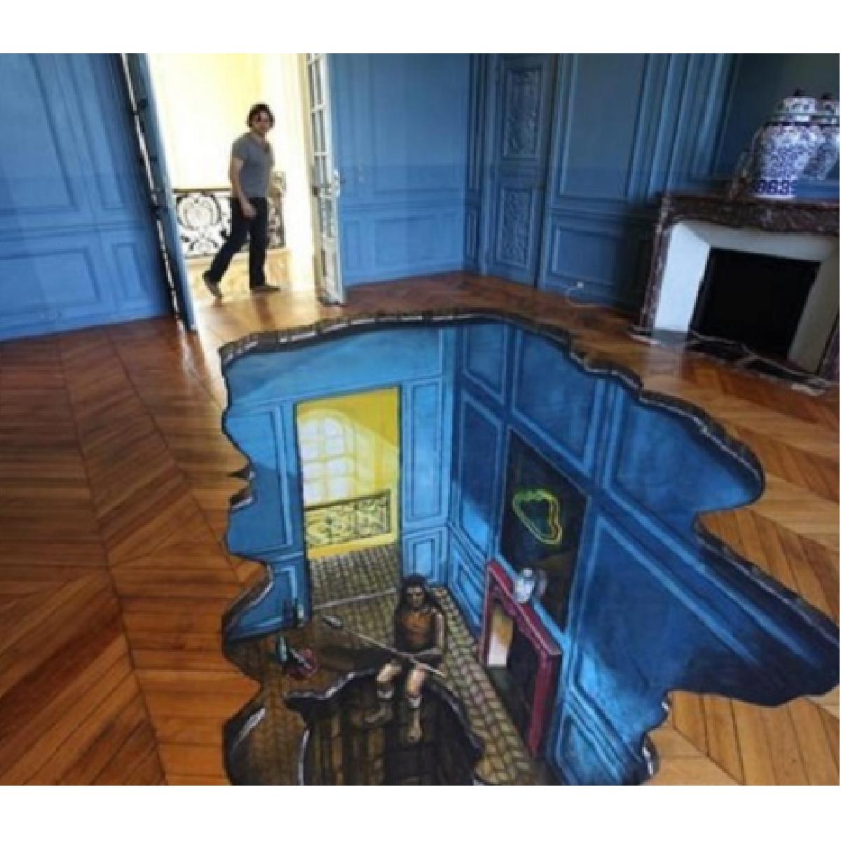 cadeaux 2 ouf id es de cadeaux insolites et originaux cadeau de r ve un plancher en 3d. Black Bedroom Furniture Sets. Home Design Ideas