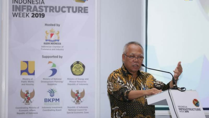 Menteri Basuki : Peran Swasta Sangat Diperlukan pada Pembangunan Infrastruktur