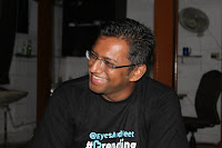 speaker Lakshmanan Narayan - detailed analytics on the facebook and twitter avatars