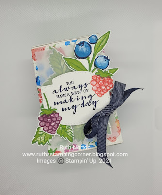 stampin up, berry blessings