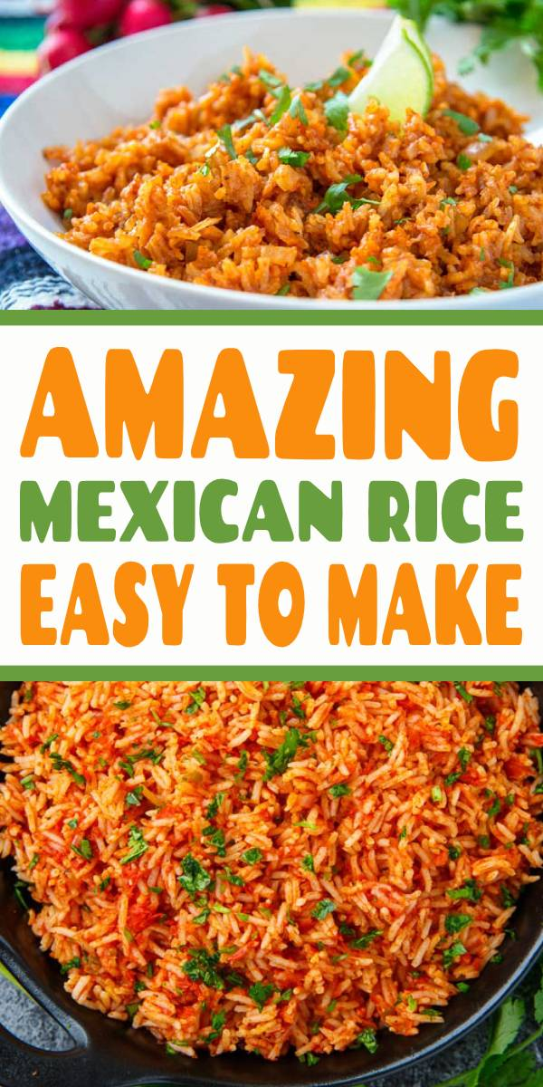 Our Mexican Rice recipe is from a friend's Mexican grandmother. Once you've learned how to make Mexican rice, you'll make it all the time! It's that easy. #mexicanrice #friedrice #mexicanfood #easydinner #dinner