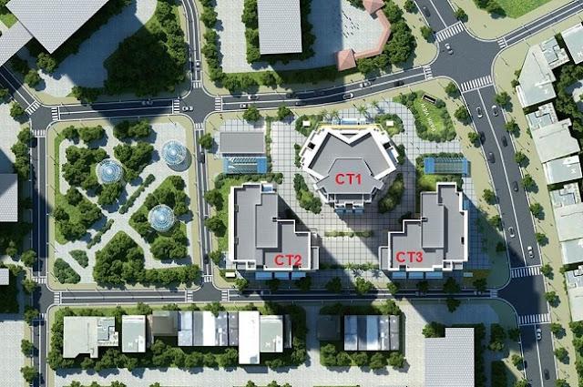 Quy hoạch chung cư E4 Yên Hòa Vũ Phạm Hàm - Park View City