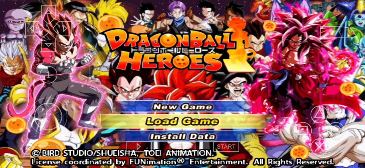 Dragon Ball Heroes Game For Android