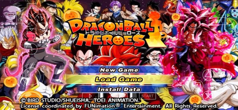 Dragon Ball Heroes DBZ TTT MOD BT3 ISO With Permanent Menu