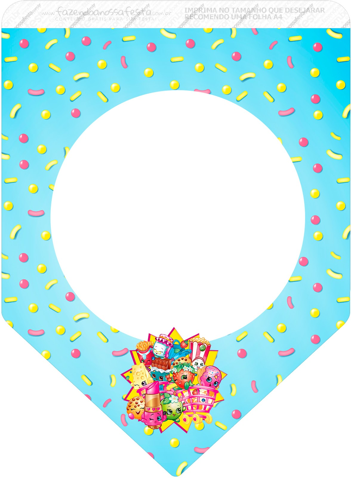 Shopkins Free Party Printables Oh My Fiesta In English