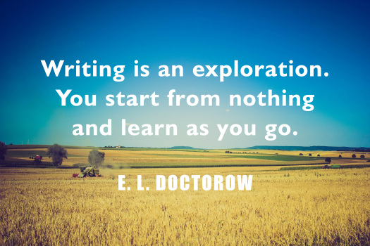 E. L. Doctorow quotation, DFW Catholic Writers Group