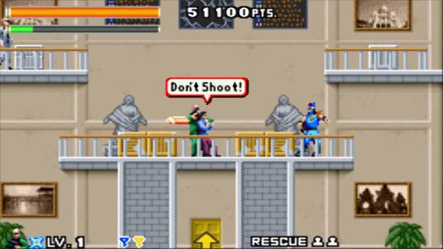 Ninja Cop - retro ninja games