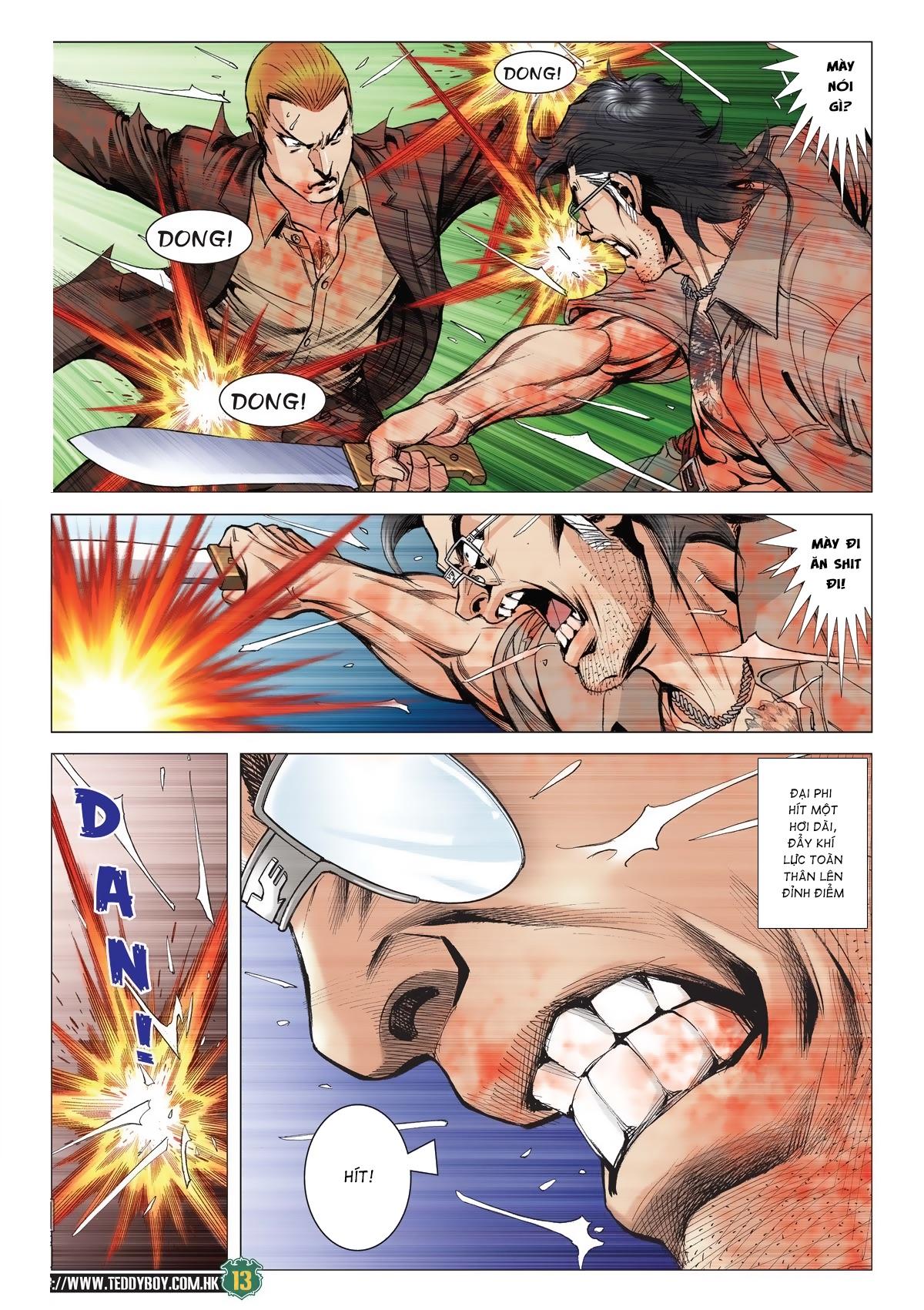 Người Trong Giang Hồ chapter 2033: kim tôn quý vs đại phi trang 10