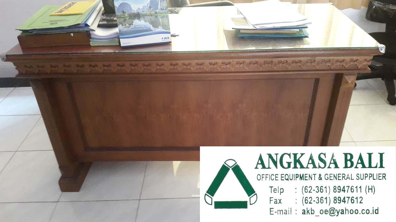 Peralatan Kantor Bali Jual Meja Kerja Kayu Jati Di Bali 0361 8947611