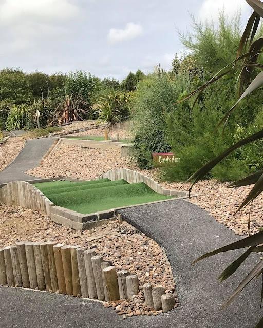 Safari Adventure Golf at Woodlands Family Theme Park in Totnes, South Devon. Photo by Matt Dodd, August 2021