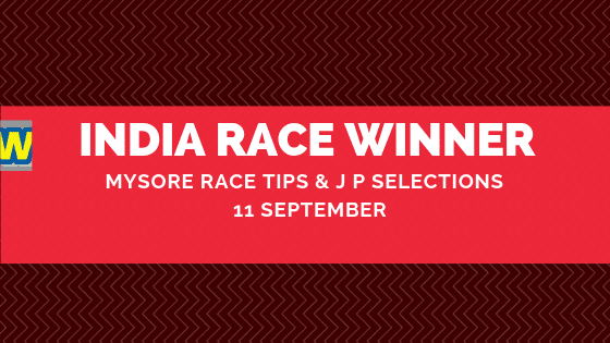 Mysore Race Selections  11 September