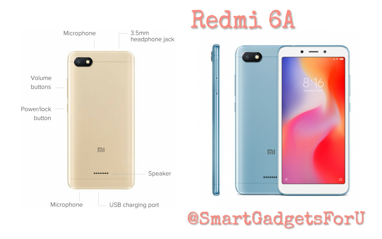 Xiaomi launches Redmi 6A smartphone, at the price of Rs.5,999, know more details
