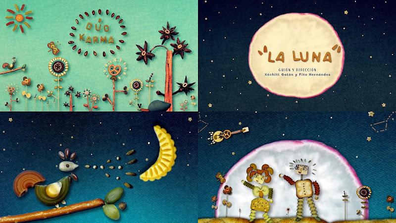 Dúo Karma - ¨La Luna¨ - Videoclip / Dibujo Animado - Dirección: Xóchitl Galán - Fito Hernández. Portal Del Vídeo Clip Cubano