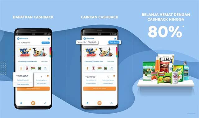 Pomona, Aplikasi Struk Belanja Yang Memberikan Cashback