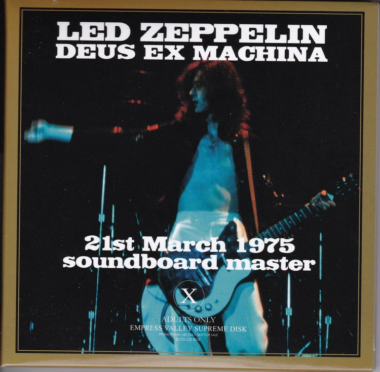 led zeppelin deus ex machina rar