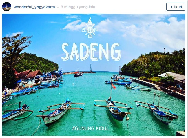 Pantai Tempat Wisata Di Jogjakarta Paling Murah dan Indah di 2017
